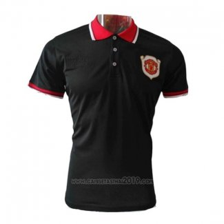 Polo Manchester United 20th Aniversario 2019-2020 Negro