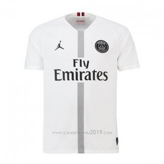 Camiseta Paris Saint-Germain Jordan Tercera 2018-2019 Blanco