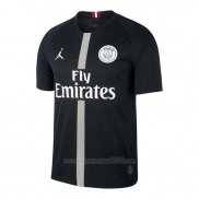 Camiseta Paris Saint-Germain Jordan Tercera 2018-2019 Negro