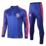 Chandal del Atletico Madrid Nino 2018-2019 Azul