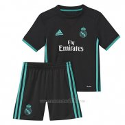 Camiseta Real Madrid Segunda Nino 2017-2018