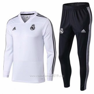 Chandal del Real Madrid 2018-2019 Blanco