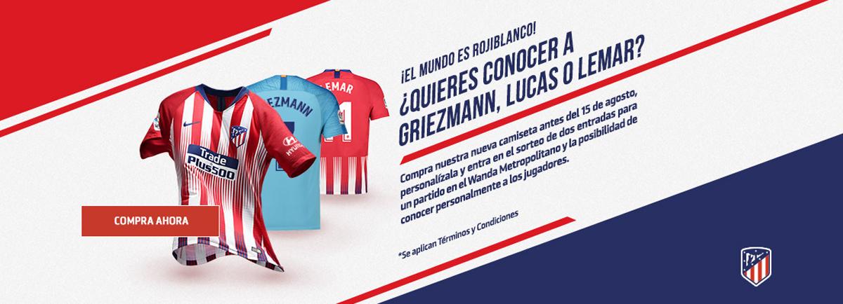 3594c0a783809 Camiseta de futbol Atletico Madrid barata tailandia 2018-2019 ...