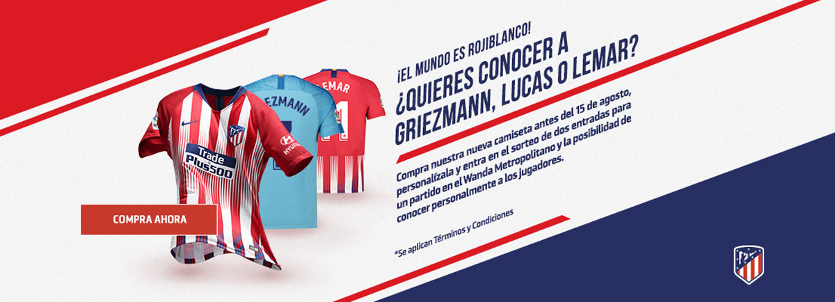 dbe2021a5d786 Camiseta de futbol Atletico Madrid barata tailandia 2018-2019 ...