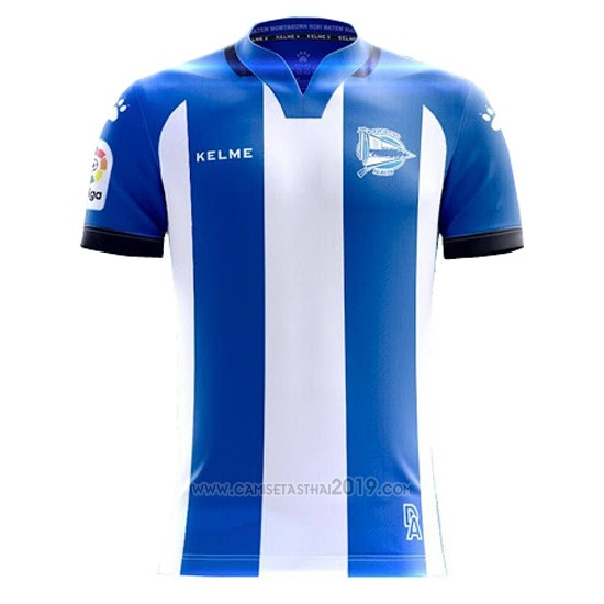 Tailandia Camiseta Alaves Primera 2017-2018  e38fd4052b1