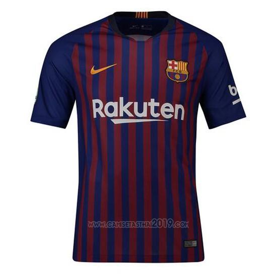 b7873fac CAMISETAS DE FUTBOL TAILANDIA. Camiseta Barcelona Primera 2018-2019