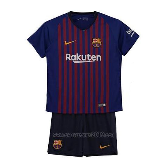 e2a015a91e Camiseta Barcelona Primera Nino 2018-2019   Camisetas calidad thai