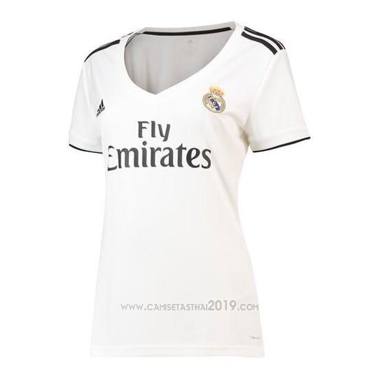 a2a84ef18ac18 2018 Primera 2019 Calidad Camisetas Thai Real Madrid Mujer Camiseta nzxaIUqS