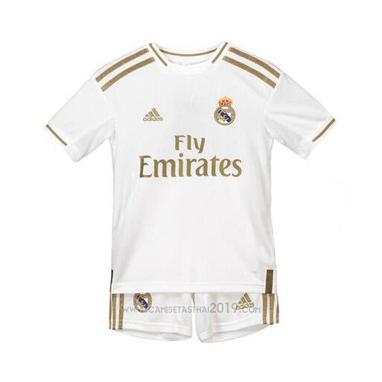 Camiseta Real Madrid Primera Nino 2019-2020 - Camisetas calidad thai