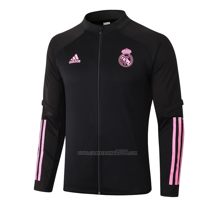 Chaqueta del Real Madrid 2020-2021 Negro