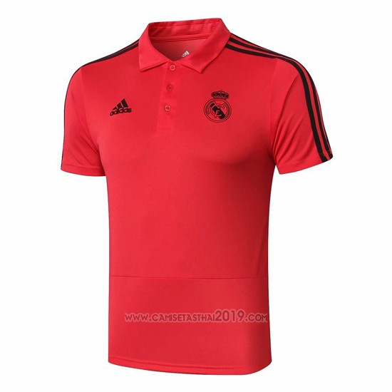 Polo Real Madrid 2019-2020 Rojo