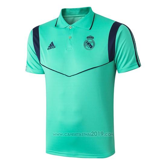 Polo Real Madrid 2019-2020 Verde - Camisetas calidad thai