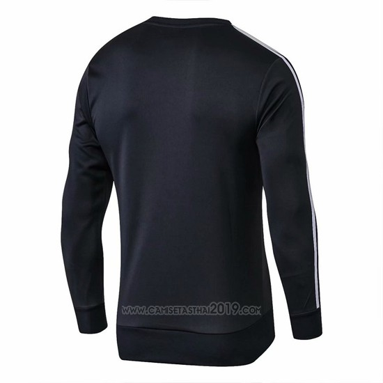 Sudadera del Real Madrid 2018-2019 Negro - Camisetas calidad thai