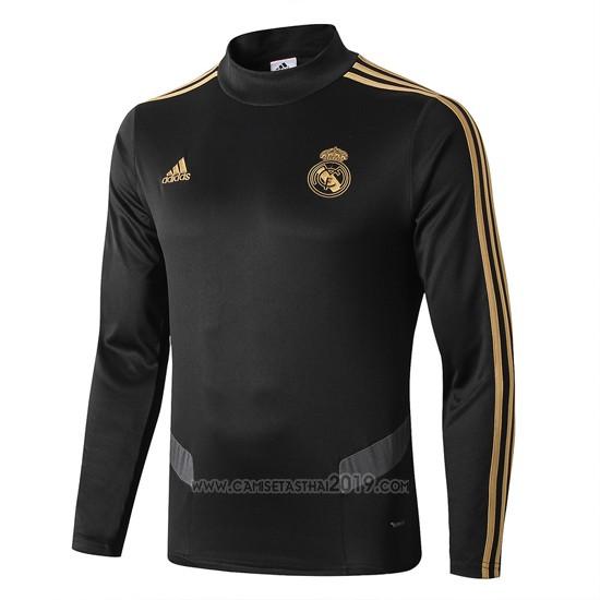 Sudadera del Real Madrid 2019-2020 Negro - Camisetas calidad thai