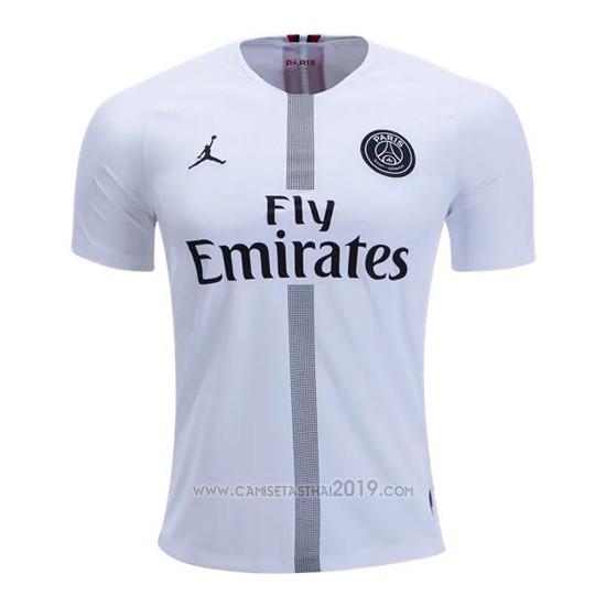45447f15ce Camiseta Paris Saint-Germain Jordan Tercera 2018-2019 (2XL-4XL) Blanco