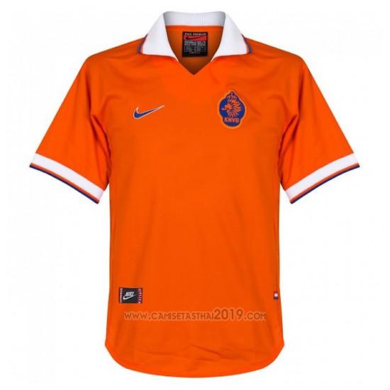 Camiseta Holanda Primera Retro 97-98  02edf779a9be2