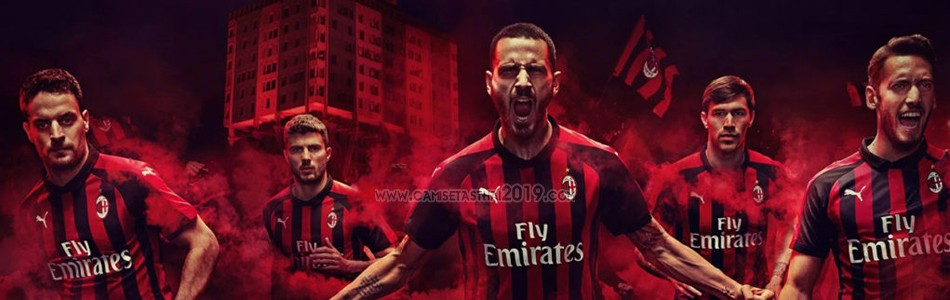 camiseta AC Milan tailandia