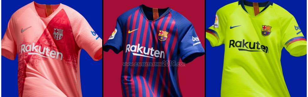 Camiseta de futbol Barcelona barata tailandia 2018-2019  3fa09f139bc