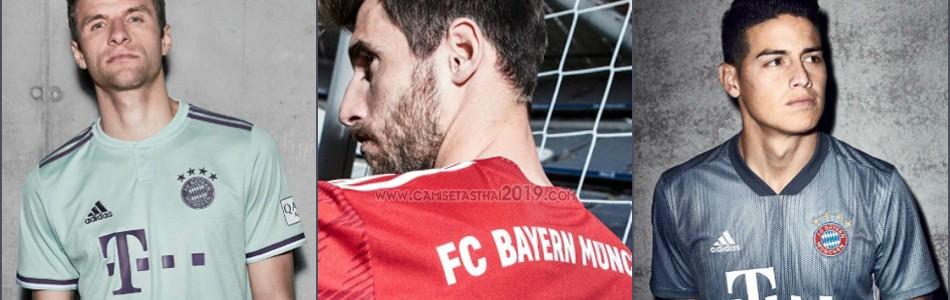camiseta Bayern Munich tailandia