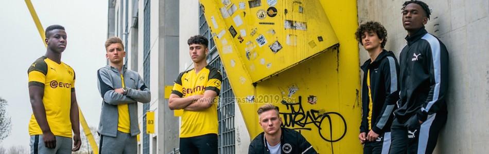 Camiseta de futbol Borussia Dortmund barata tailandia 2018-2019 ... 4542b55774c