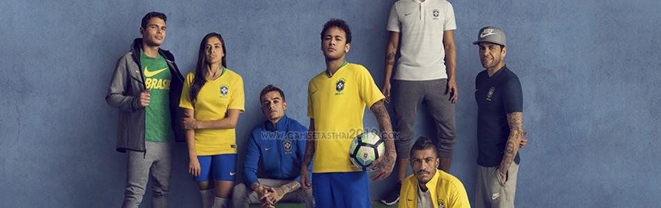 camiseta Brasil tailandia