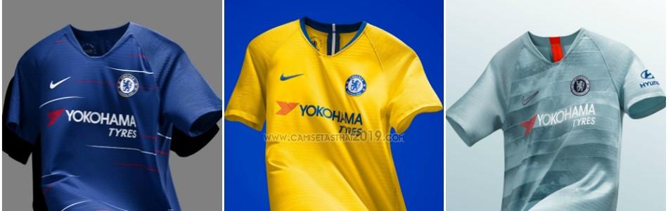 camiseta Chelsea tailandia