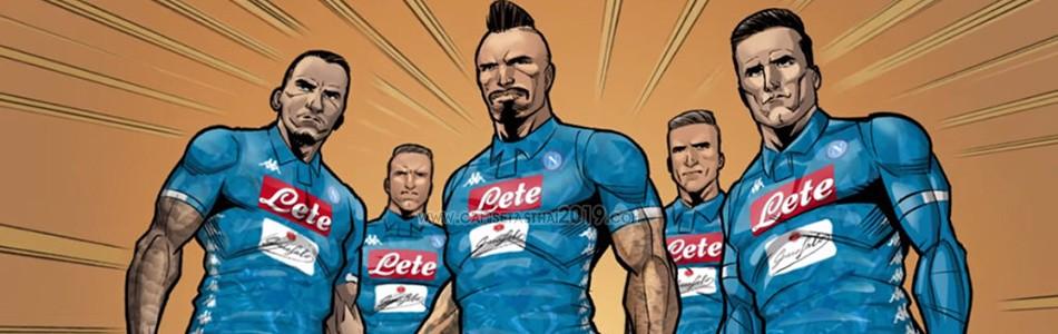 camiseta Napoli tailandia