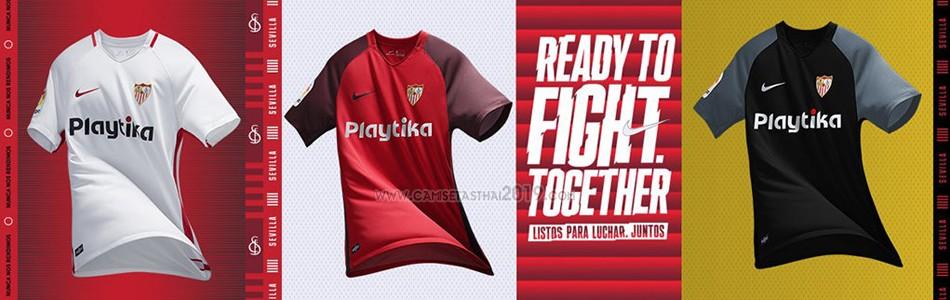 camiseta Sevilla tailandia