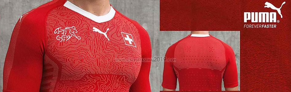 camiseta Suiza tailandia