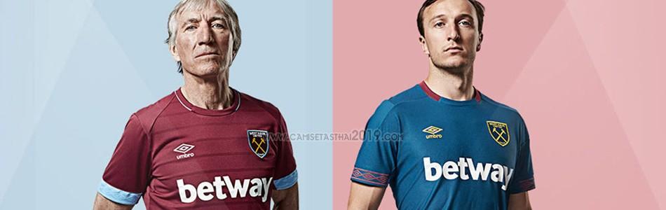 camiseta West Ham tailandia